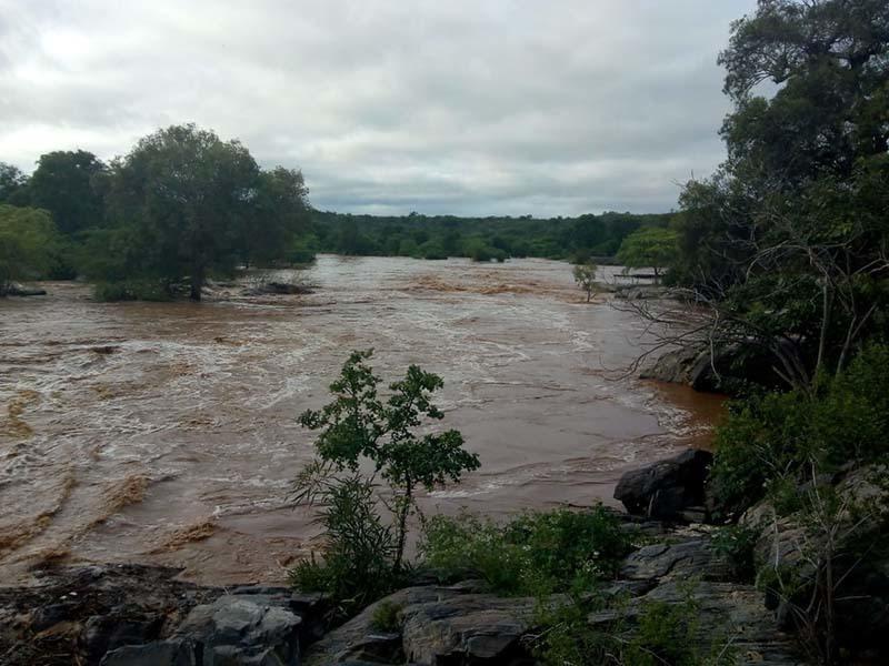 chuvas1 - Onze reservatórios sangram após fortes chuvas na Paraíba; VEJA QUAIS SÃO
