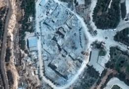 Fotos de satélite mostram centro de pesquisa sírio antes e depois de ataque dos EUA