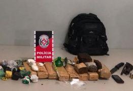 Polícia desarticula boca de fumo e apreende quase 10 kg de maconha em Bayeux