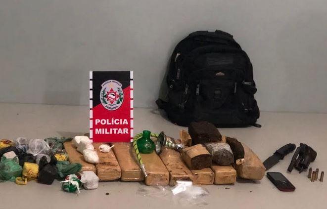 drogas bayeux - Polícia desarticula boca de fumo e apreende quase 10 kg de maconha em Bayeux