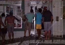 MAIS UMA EXPLOSÃO: Bandidos fortemente armados explodem agência bancária no interior do estado