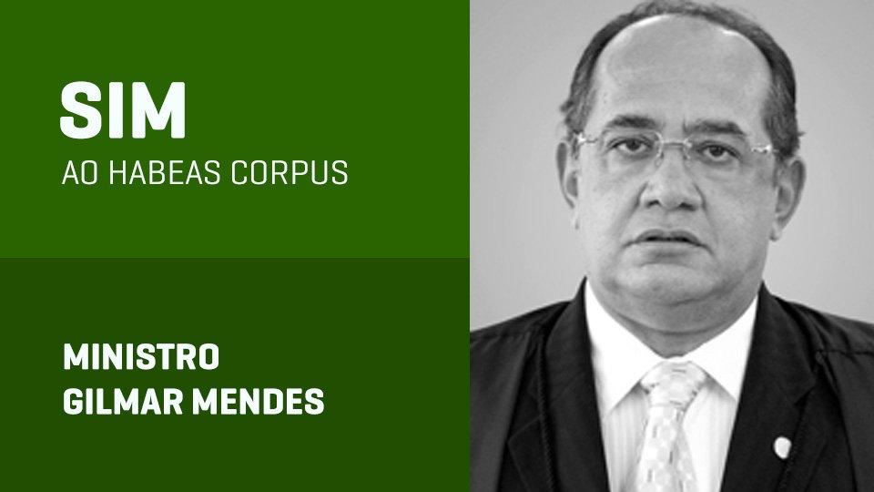 gilmar mendes voto julgamento habeas corpus lula stf - AO VIVO: STF julga pedido de habeas corpus do ex-presidente Lula