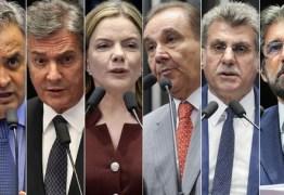 CERCO SE FECHA: 6 senadores são réus em ações derivadas da Lava Jato