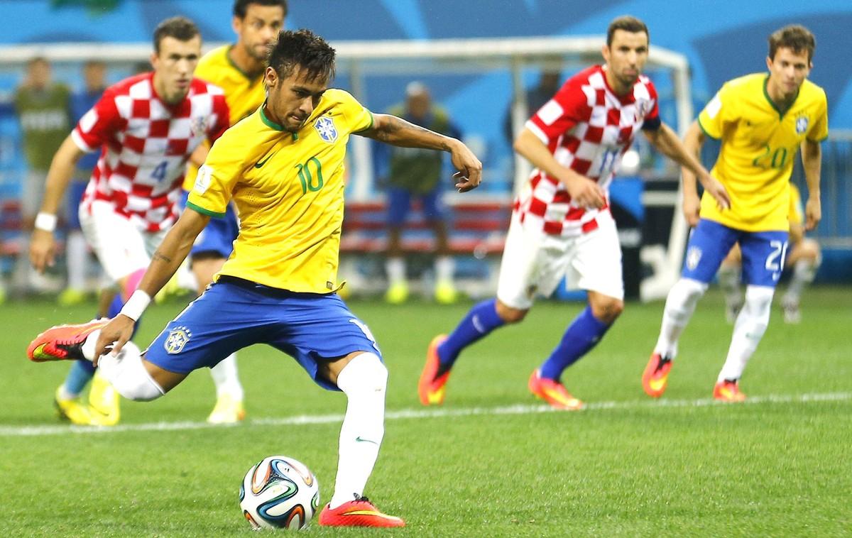 neymar brasil reu - Amistoso da seleção contra a Croácia será no estádio do Liverpool