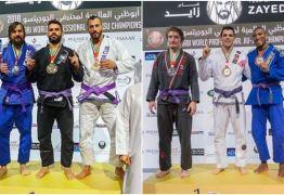 Paraibanos são campeões mundiais de jiu-jitsu em Abu Dhabi