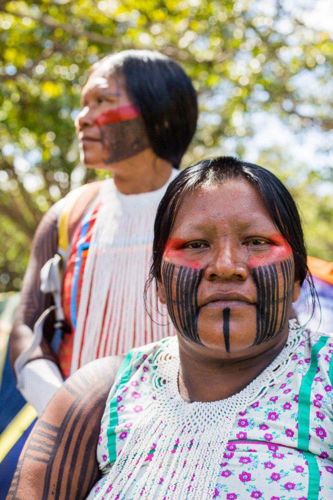 photo 2018 04 23 14 15 08 682x1024 - 3 mil indígenas estão em Brasília para o Acampamento Terra Livre 2018