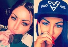 'Perdi a visão pra sempre', diz modelo após mudar a cor dos olhos