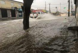 Chove mais de 43 mm em João Pessoa e Defesa Civil alerta para mais chuvas