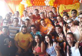 João, Gervásio e Célio participaram de encontro com a Juventude do PSB em Guarabira neste sábado