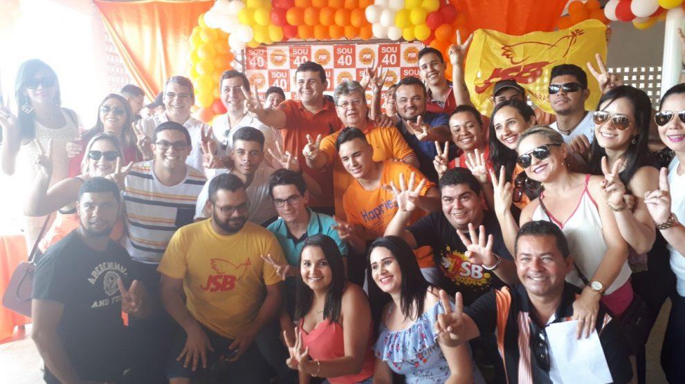 thumbnail 20180428 130133 990x556 - João, Gervásio e Célio participaram de encontro com a Juventude do PSB em Guarabira neste sábado