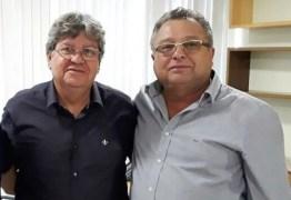 Prego Batido e Ponta Virada! Prefeito Airton Pires reafirma apoio a Pré-Candidatura de João Azevedo.