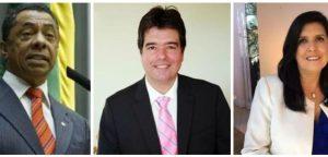 trio  300x144 - O PSDB já busca entendimentos com Lígia e Damião Feliciano depois do racha com Ricardo