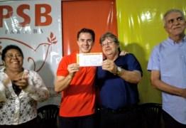 Dirigente do PSB prevê apoio de 140 prefeitos à candidatura de João Azevedo