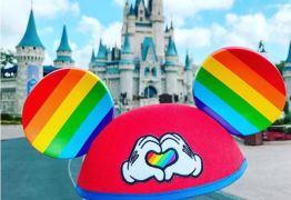 Parques da Disney lançam orelhas em homenagem ao mês do Orgulho Gay