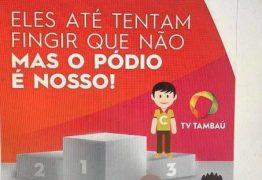 HUMILHAÇÃO: TV Tambaú faz anúncio para confirmar terceiro lugar e provoca gozação nas redes sociais
