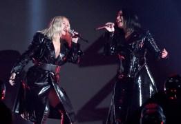 Christina Aguilera e Demi Lovato lançam clipe para a faixa 'Fall In Line'