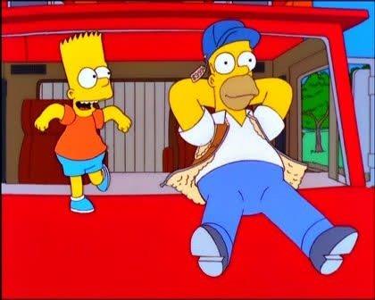 Dd69tweU8AArnMm - PRECISÃO: 'Os Simpsons' previram a greve dos caminhoneiros no Brasil