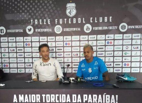 Marcelinho Paraíba 567x390 1 567x410 - Capitão do Treze tem prisão revogada, retorna ao trabalho e quer enfrentar URT