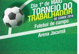 Feriado de 1º de maio tem Torneio do Trabalhador na Arena Jacumã