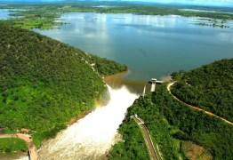 Açude Coremas aumenta volume de água e ultrapassa índice de 20% da capacidade máxima