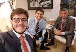 UNIÃO: Romero Rodrigues e Bruno Cunha Lima articulam apoio ao partido de Bolsonaro