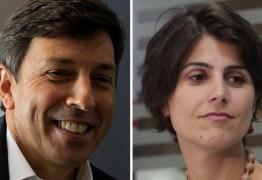 Manuela D'Ávila e João Amoedo lideram arrecadação na internet
