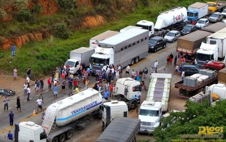 greve br 381 - Governo diz que já começou a aplicar multa de R$ 100 mil por hora pra conter greve