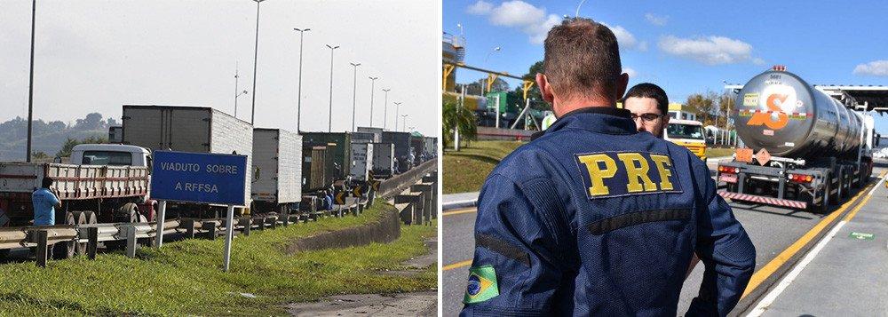 images cms image 000592183 - PRF anuncia apoio à greve dos caminhoneiros