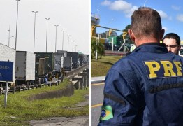 PRF anuncia apoio à greve dos caminhoneiros