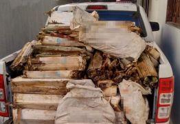 Polícia Civil apreende mais de 1.0000 bananas de dinamite em Coremas