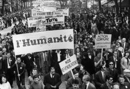 Grande greve de Maio de 1968 na França completa 50 anos
