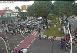 VEJA VÍDEO: Protesto de motoboys interdita avenidas e invade ruas de JP