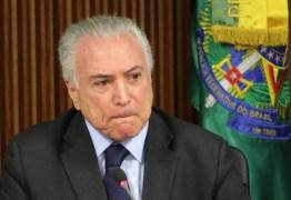 Temer lamenta morte de Gouveia: 'fará muita falta'