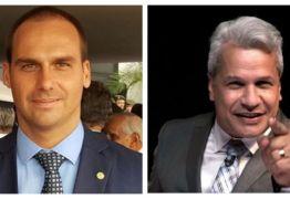 Filho de Bolsonaro, Eduardo,  sai em defesa de Sikêra Jr.: as 'feminazis' o promoveram ainda mais; VEJA VÍDEO!