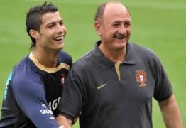 'Messi é genialidade pura e Cristiano Ronaldo é trabalho puro', diz Felipão