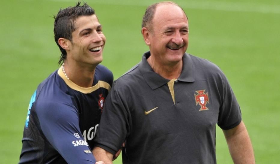 1528847552304 1 - 'Messi é genialidade pura e Cristiano Ronaldo é trabalho puro', diz Felipão