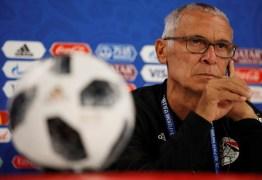 Egito anuncia saída do treinador Héctor Cúper após eliminação