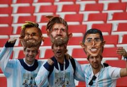 Argentina estreia na Copa do Mundo em jogo contra Islândia