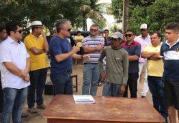 Prefeito de Alhandra autoriza perfuração de poços nas comunidades Vieira e Riacho
