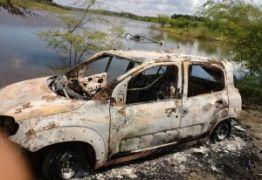 Carro de Sargento da PM que foi assassinado é encontrado queimado em Boqueirão