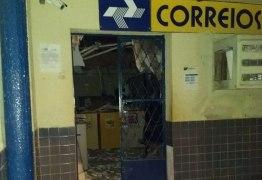 MAIS UM ATAQUE: agência dos Correios é explodida no Sertão paraibano