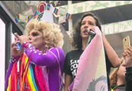 'Isso é ato de resistência', diz viúva de Marielle durante a Parada LGBT em SP