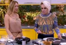 Convidada russa de Ana Maria Braga rouba a cena com 'detalhe' indiscreto