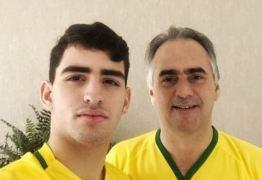 NINJA NA REDE: postagem de Lucélio Cartaxo com o filho bomba de curtidas no instagran