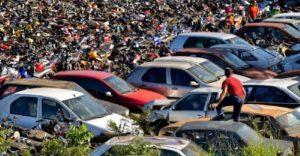 Detran 692x360 300x156 - Ladrões furtam combustível de carros apreendidos no Detran