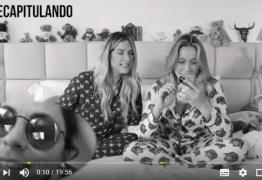 """Fernanda Gentil dispensa Giovanna Ewbank em vídeo: """"Não é trisal"""" -VEJA VÍDEO"""