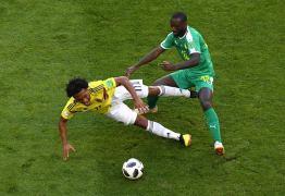 Colômbia vence Senegal por 1 x 0 e se classifica às oitavas da Copa