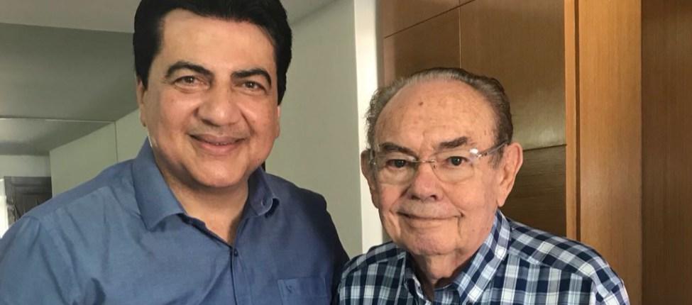 Manuel Júnior e Ivandro - Vice-prefeito Manuel Júnior, fecha apoio de Ivandro Cunha Lima para a disputa ao Senado