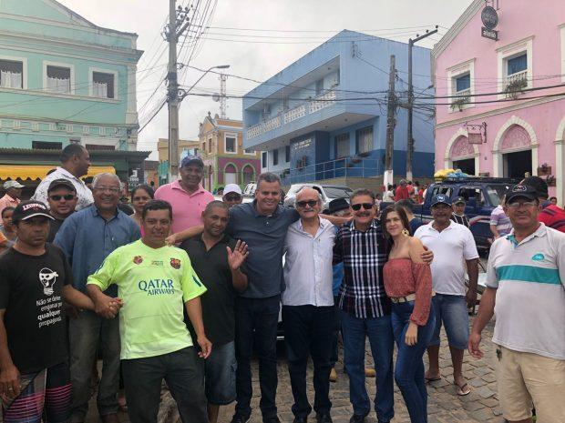 Mofi emerson machado lideranças políticas areia - Em Areia, Mofi recebe o apoio de Tião Gomes e de lideranças locais