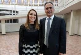 DISPUTA PARA O GOVERNO DA PB: Micheline Rodrigues diz que está honrada em ser vice de Lucélio